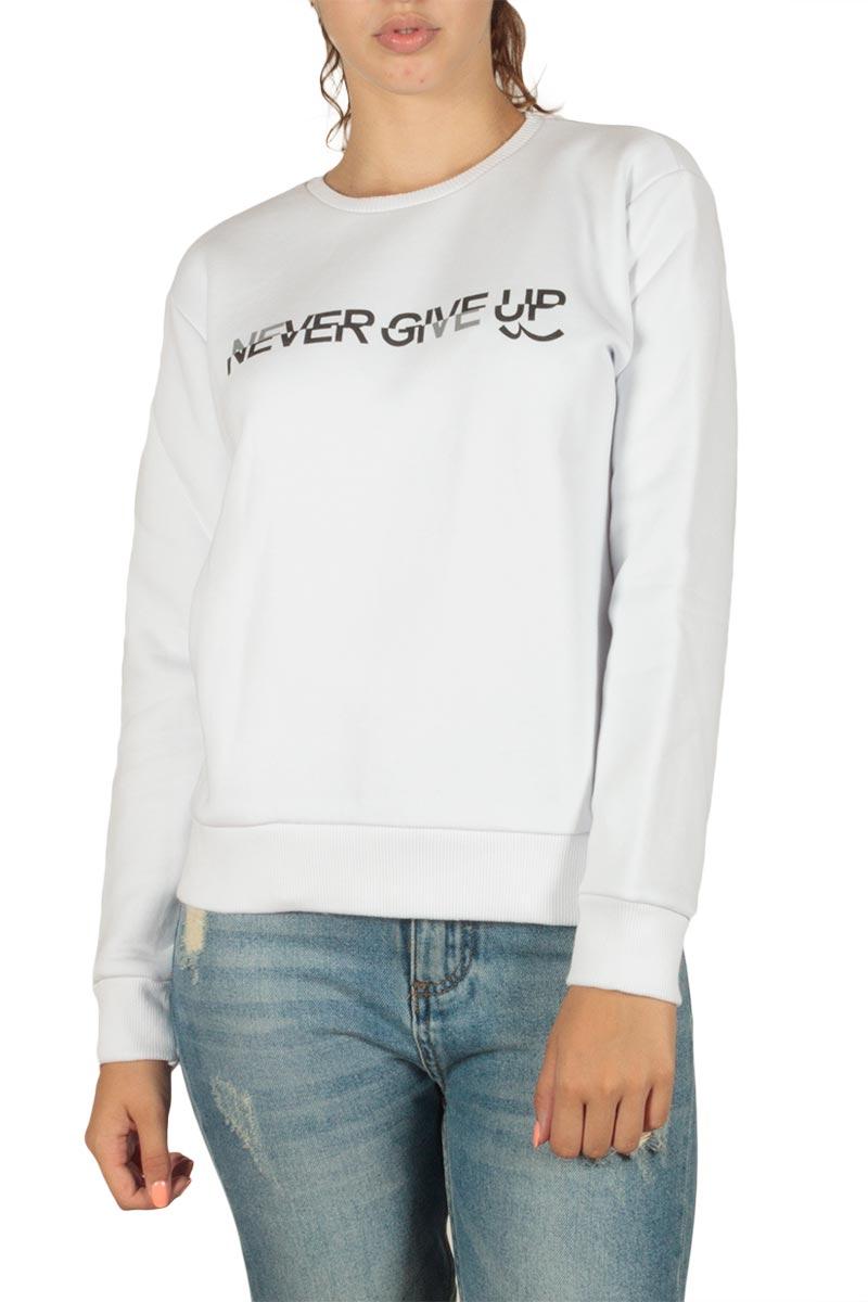 LTB Misopi φούτερ μπλούζα λευκή - 81091-60313