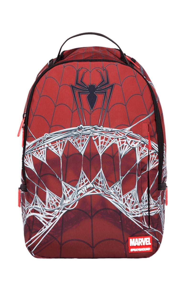 79b618eb7f Sprayground Marvel Spiderman webbed shark backpack