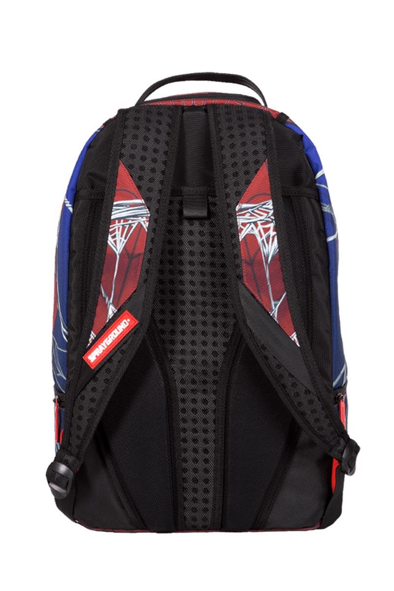 Sprayground Marvel Spiderman webbed shark backpack