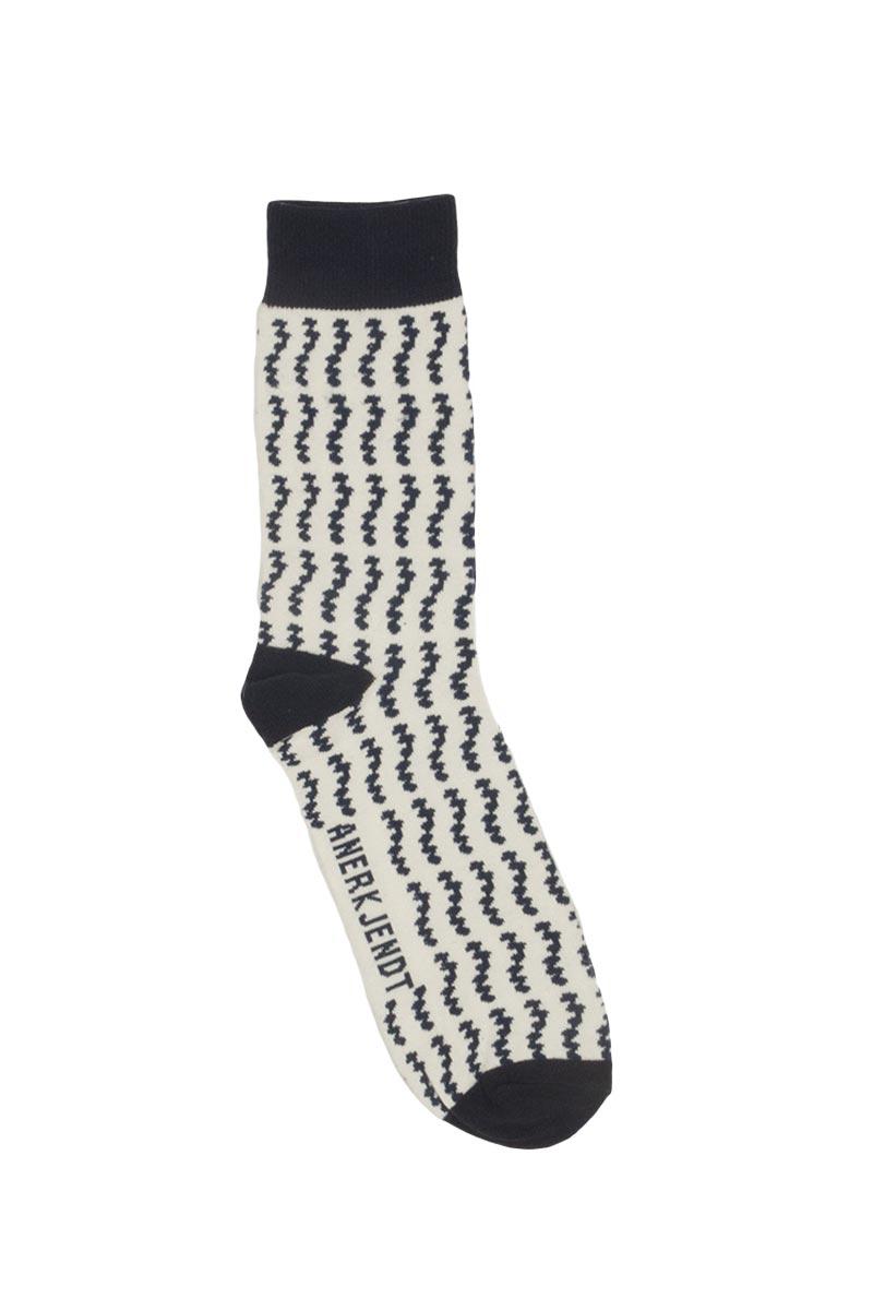 Anerkjendt Flash ανδρικές κάλτσες λευκό-μπλε