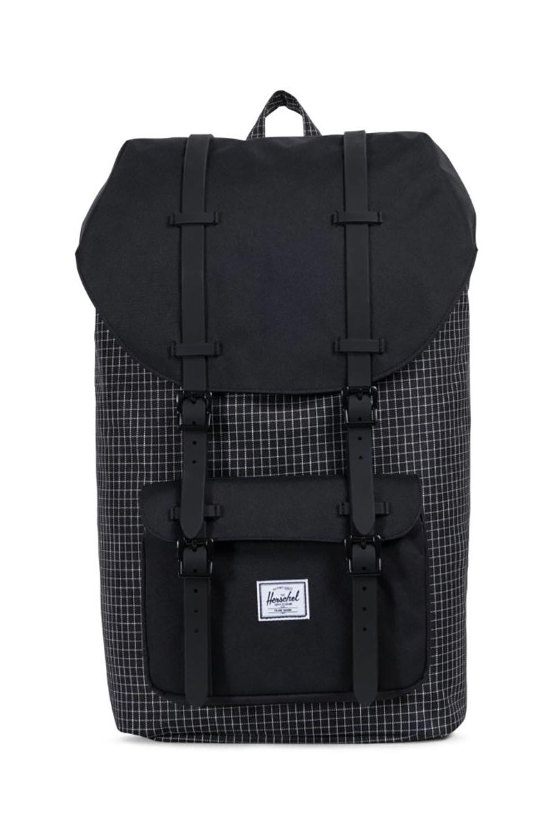 Herschel Supply Co. Little America backpack black grid