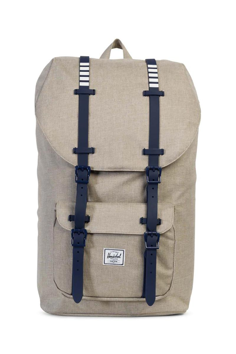 Herschel Supply Co. Little America backpack light khaki crosshatch