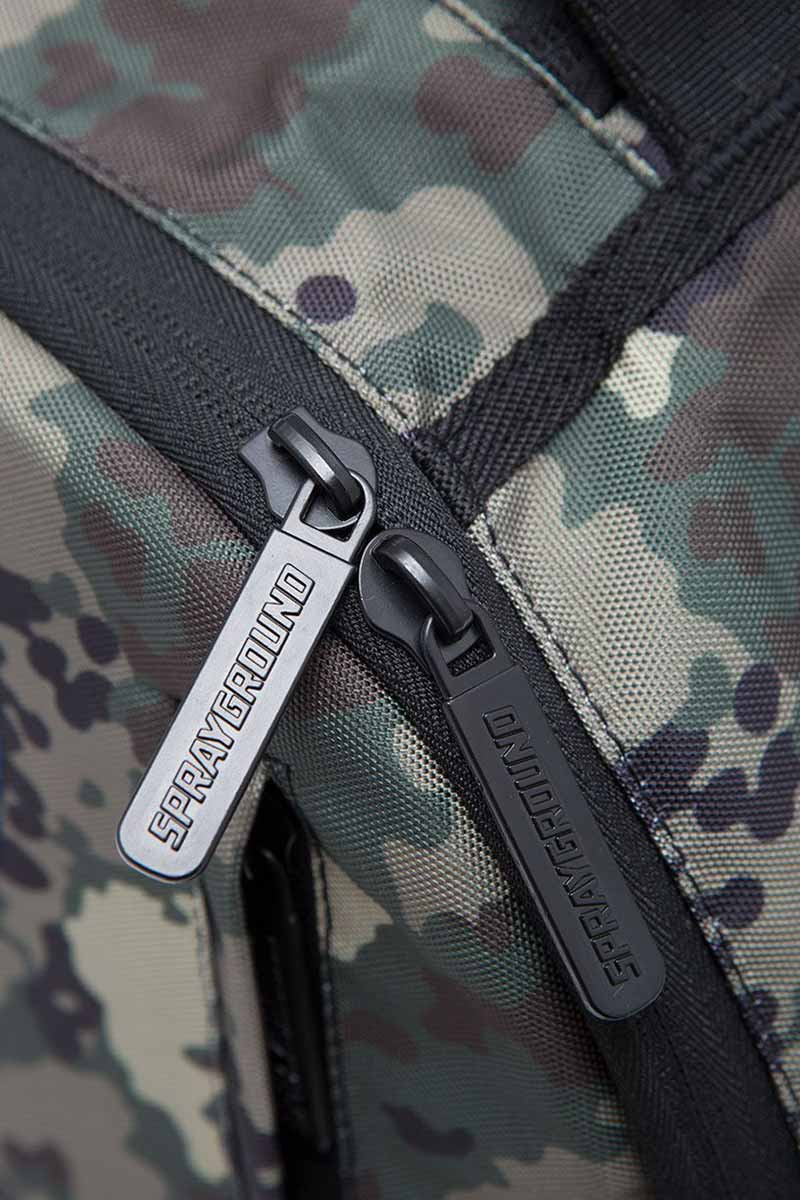 Sprayground Japan camo shark backpack