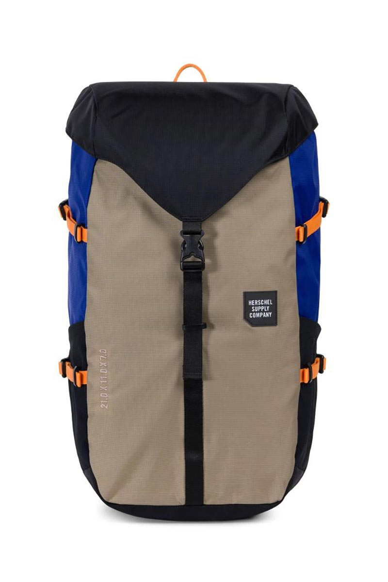 4ea1d095a47 Herschel Barlow large Trail backpack black brindle surf the web