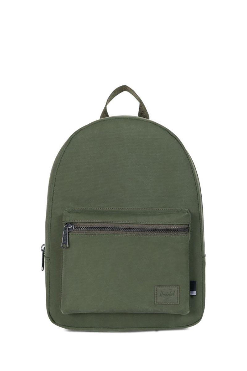 Herschel Supply Co. Grove X-Small cotton canvas backpack forest night