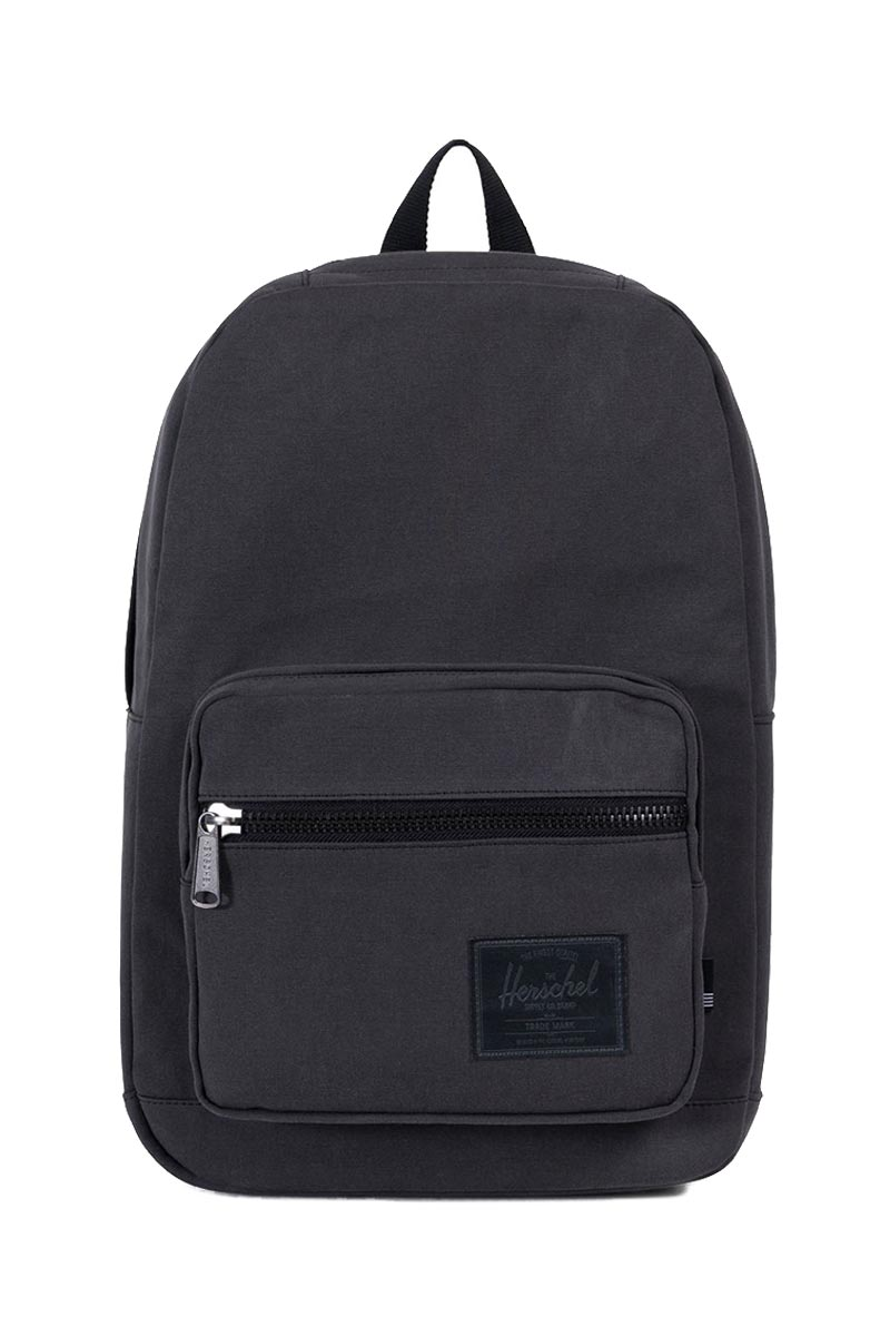 Herschel Supply Co. Pop Quiz Cotton Canvas backpack black
