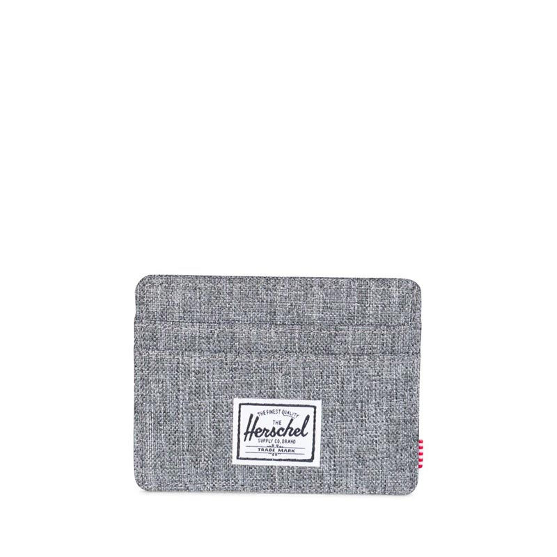 Herschel Supply Co. Charlie RFID wallet raven crosshatch