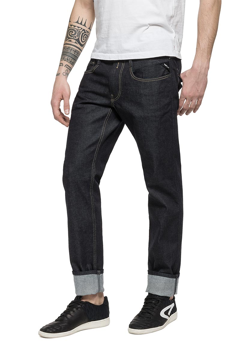 Replay Forever Dark Anbass slim fit jeans - m914-000-87b07-007