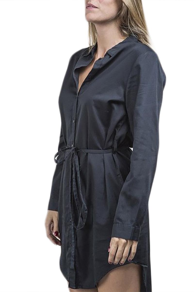 Thinking Mu Marta φόρεμα μαύρο