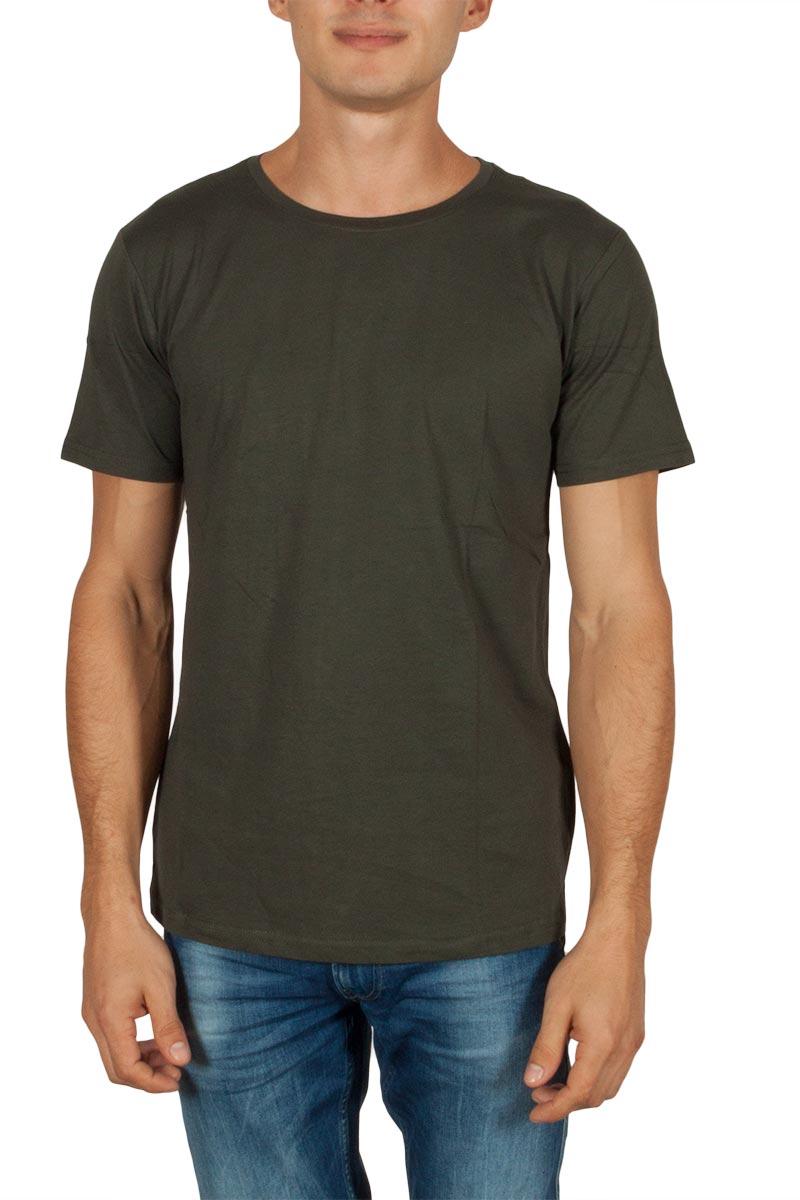 Anerkjendt Ralf basic t-shirt χακί