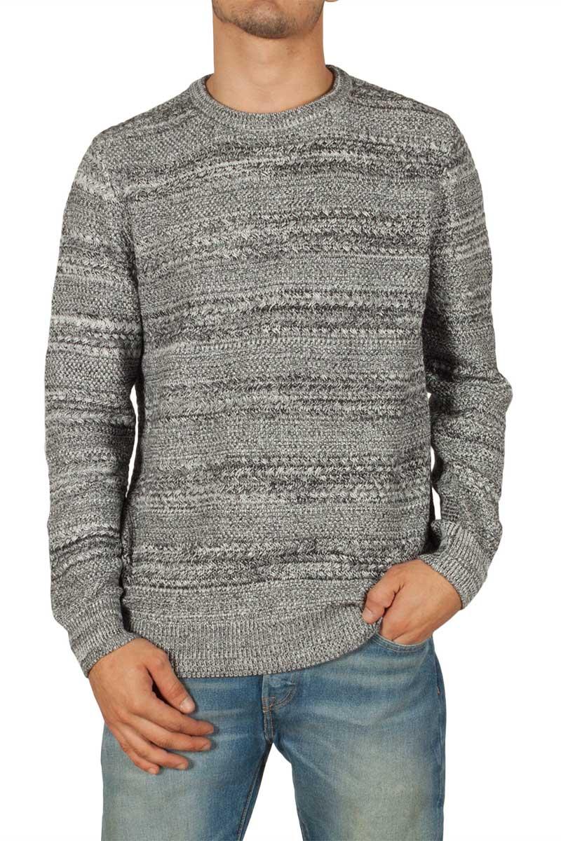 Globe Magnus ανδρικό πουλόβερ μαύρο μελανζέ