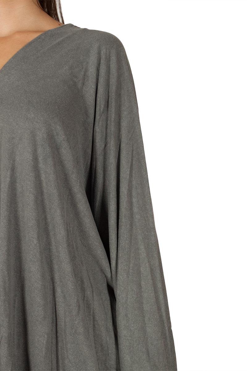 Lotus Eaters Anouk μακρυμάνικη μπλούζα γκρι