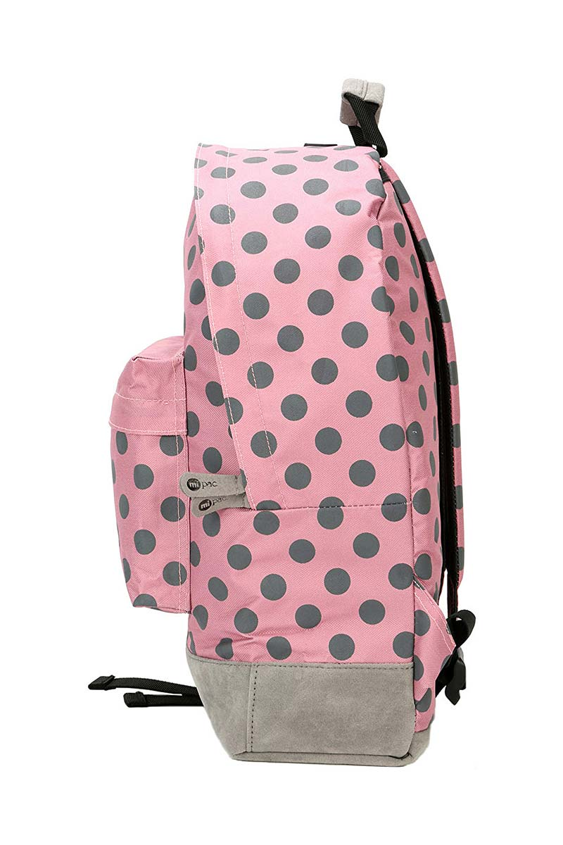 Mi-Pac All polka backpack rose/grey