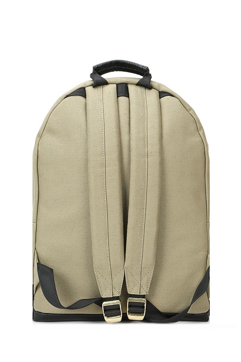 Mi-Pac Gold backpack canvas tumbled khaki/black