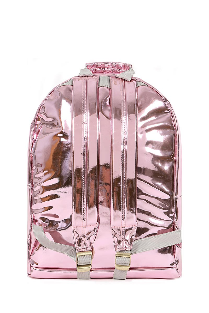 Mi-Pac Gold backpack mirror pink