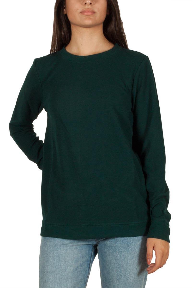 Minimum Danielle φούτερ μπλούζα πράσινο - 154110297-gn