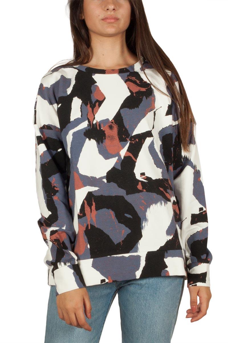 Minimum Dolores φούτερ μπλούζα indigo grey - 154100296