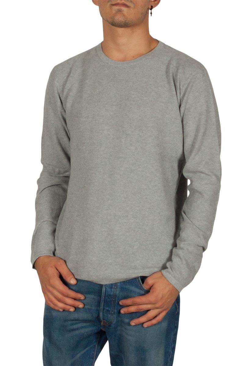 Minimum Durham πουλόβερ γκρι μελανζέ