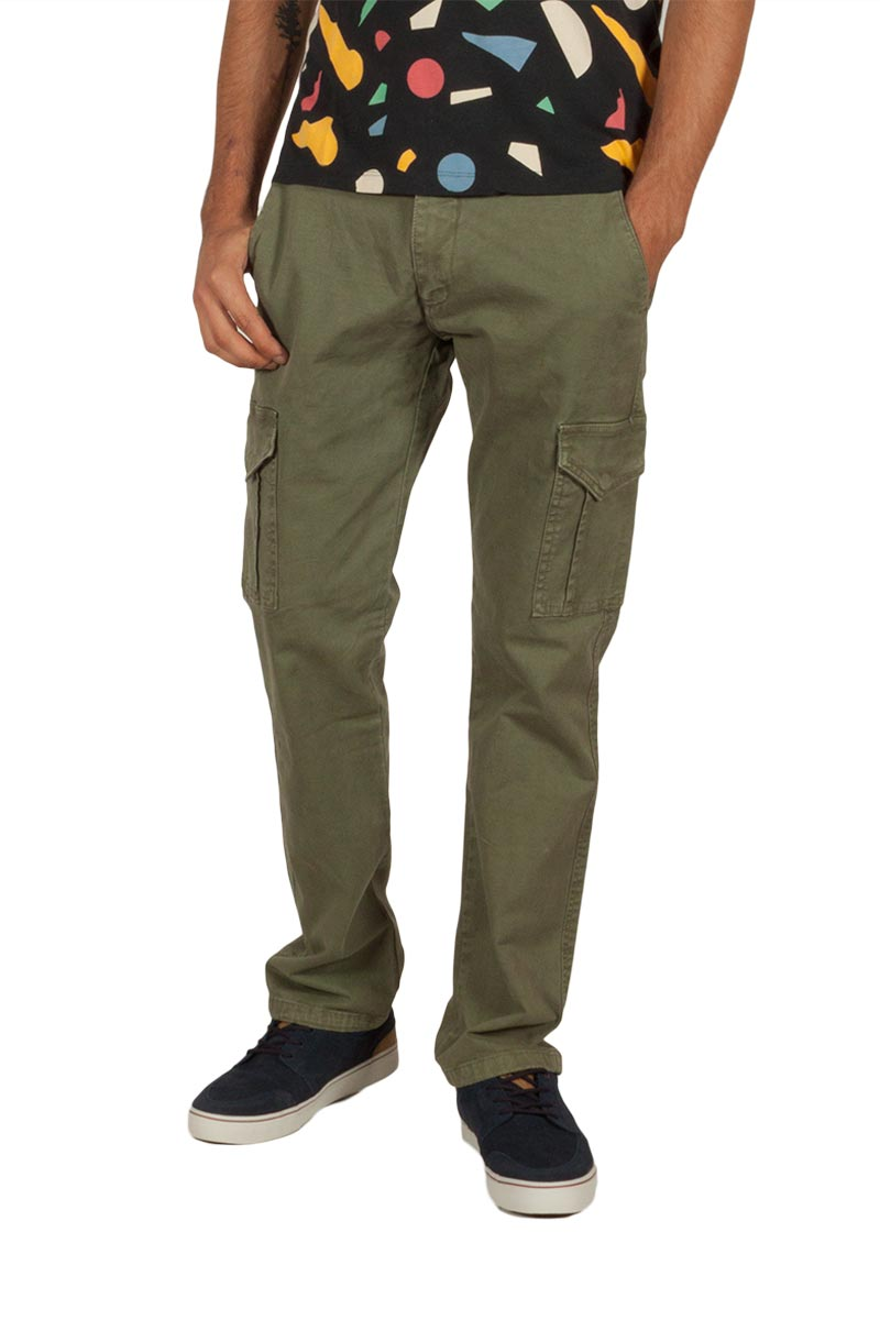 Superior Vintage cargo παντελόνι χακί ανδρικα   παντελόνια