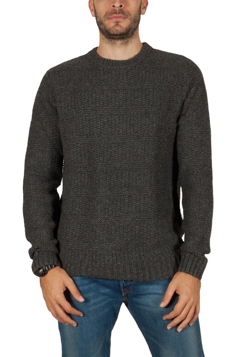 Dickies Crafton πουλόβερ σκούρο γκρι