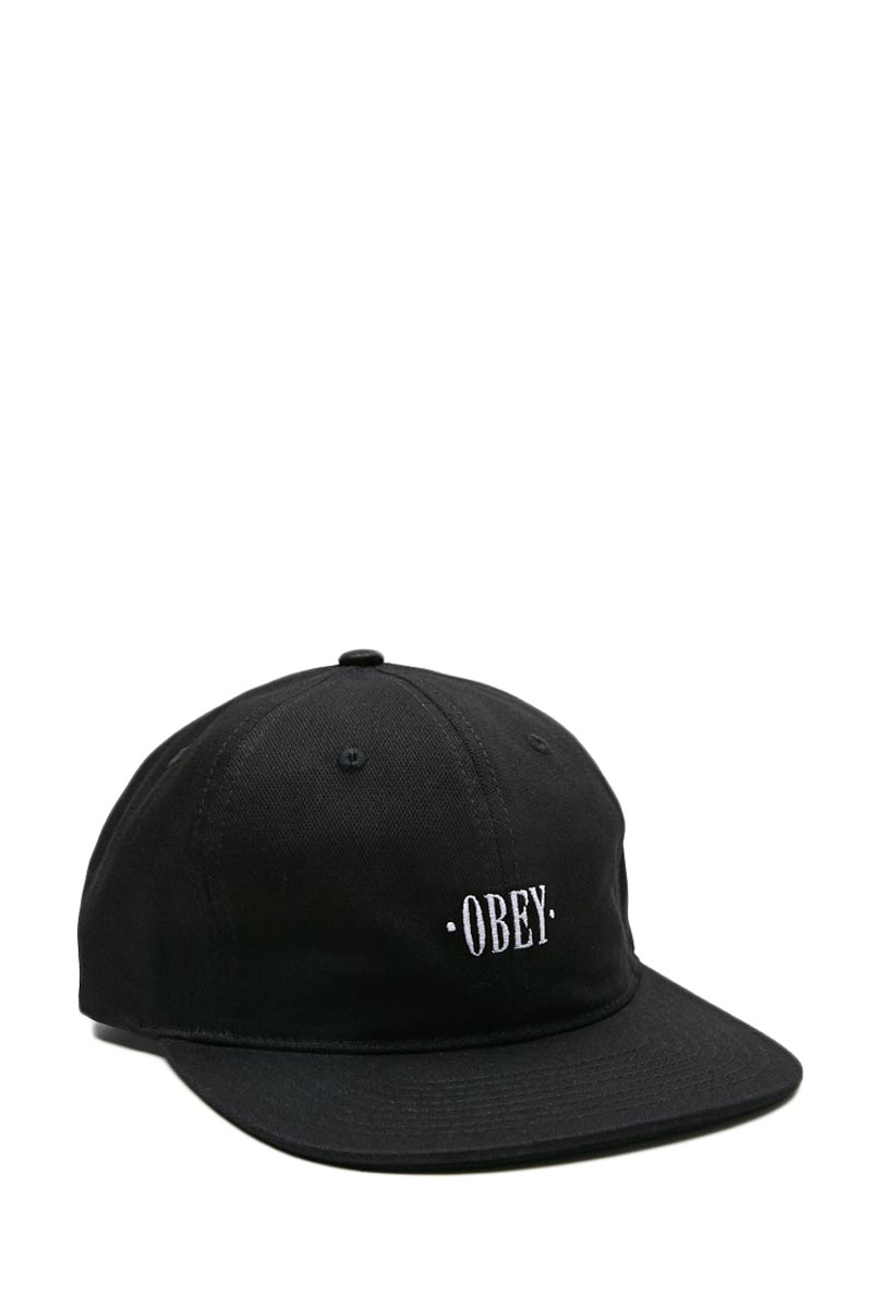 Obey Baseline hat black