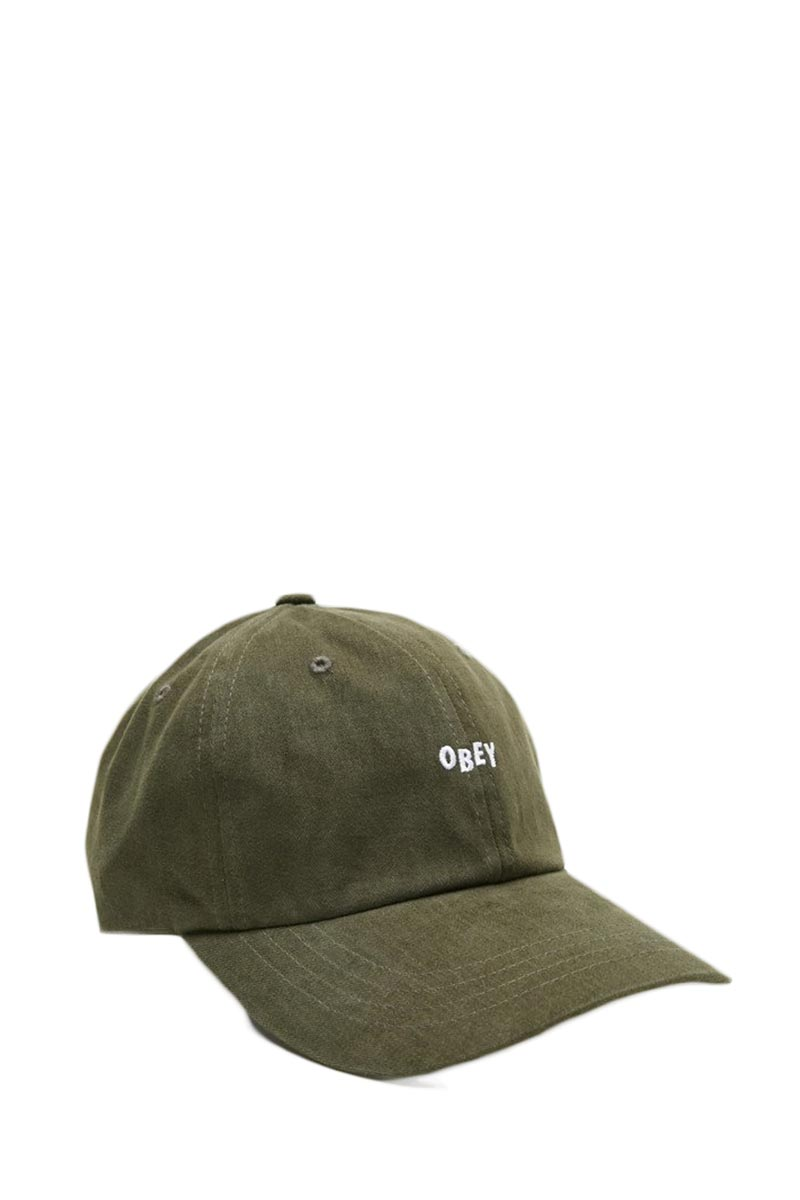 Obey Jumble bar III hat army