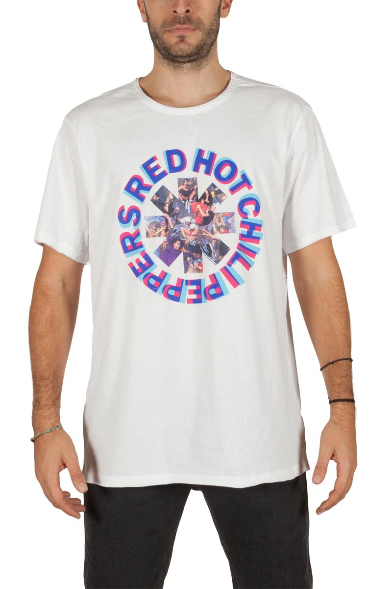 Amplified Red Hot Chili Peppers Freaky styley t-shirt λευκό - zav210rfc