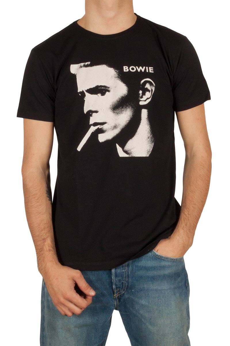 Worn By David Bowie T-shirt black ανδρικα   t shirts
