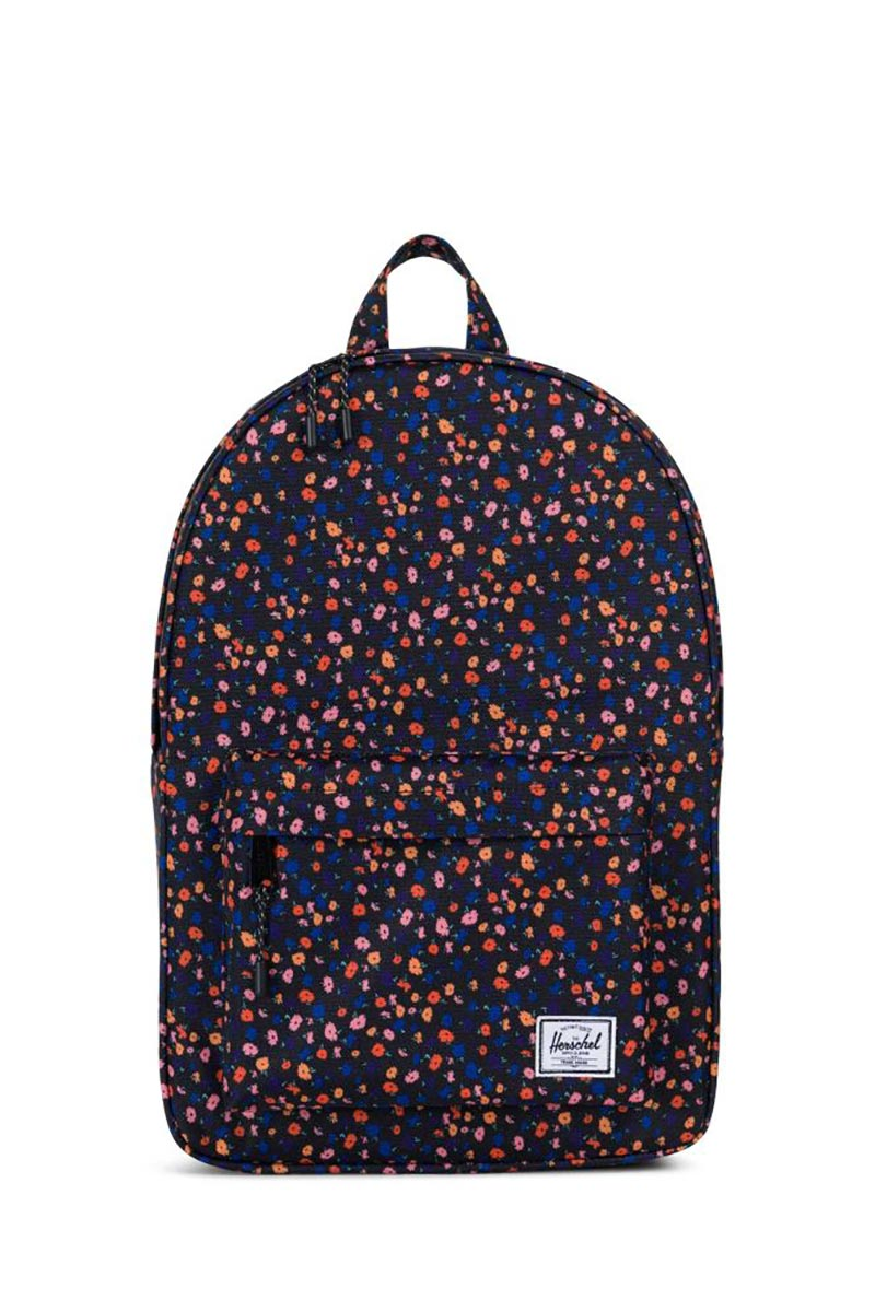 Herschel Supply Co. Classic mid volume backpack black mini floral