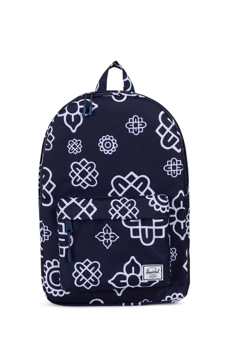 Herschel Supply Co. Classic mid volume backpack peacoat paisley