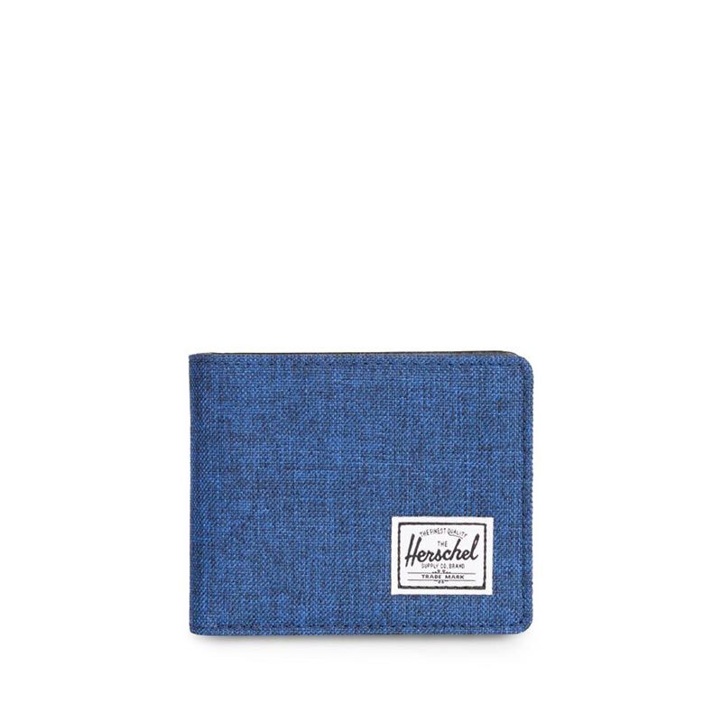 Herschel Supply Co. Hank coin RFID wallet eclipse crosshatch