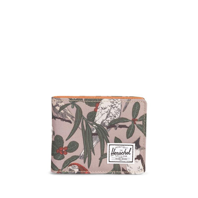 Herschel Supply Co. Hank RFID wallet brindle parlour