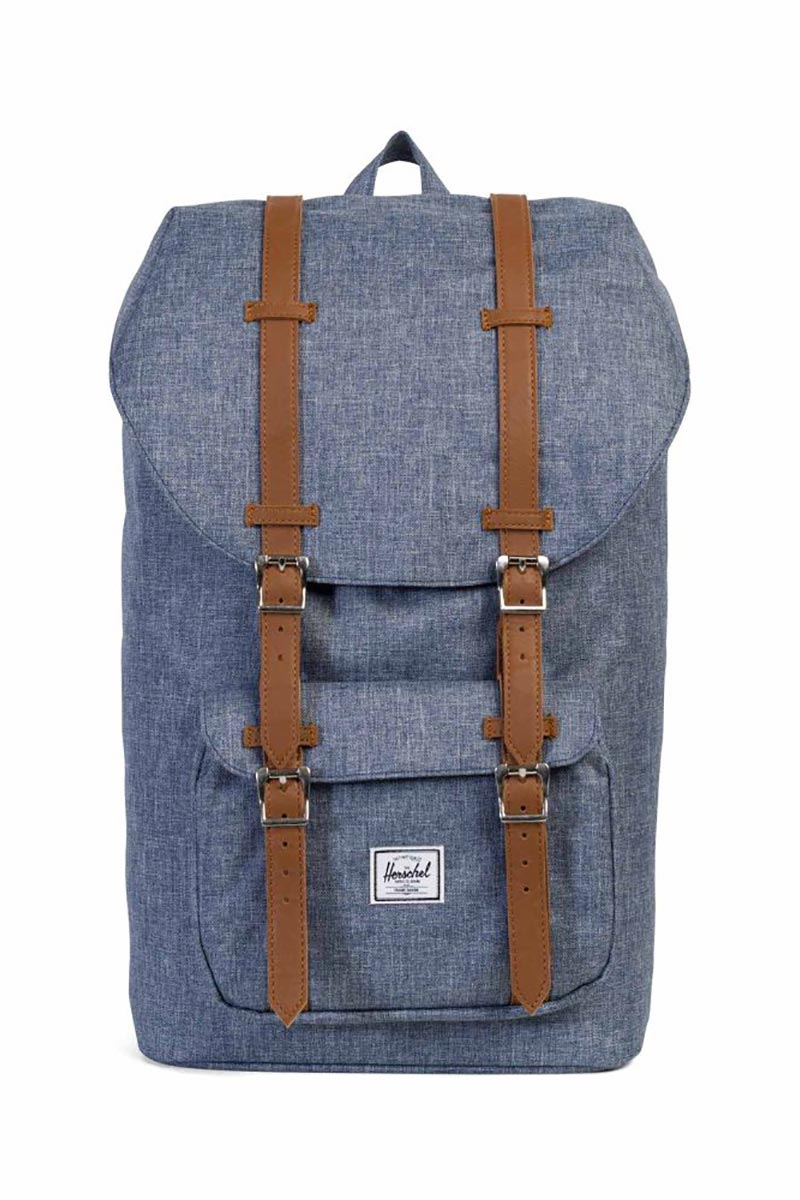 Herschel Supply Co. Little America backpack dark chambray crosshatch - 10014-01570-os