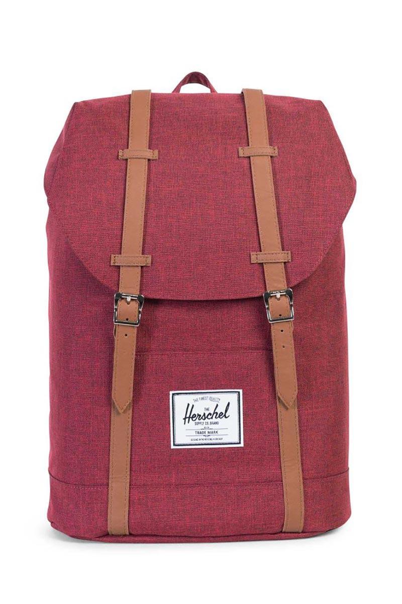 Herschel Supply Co. Retreat backpack winetasting crosshatch
