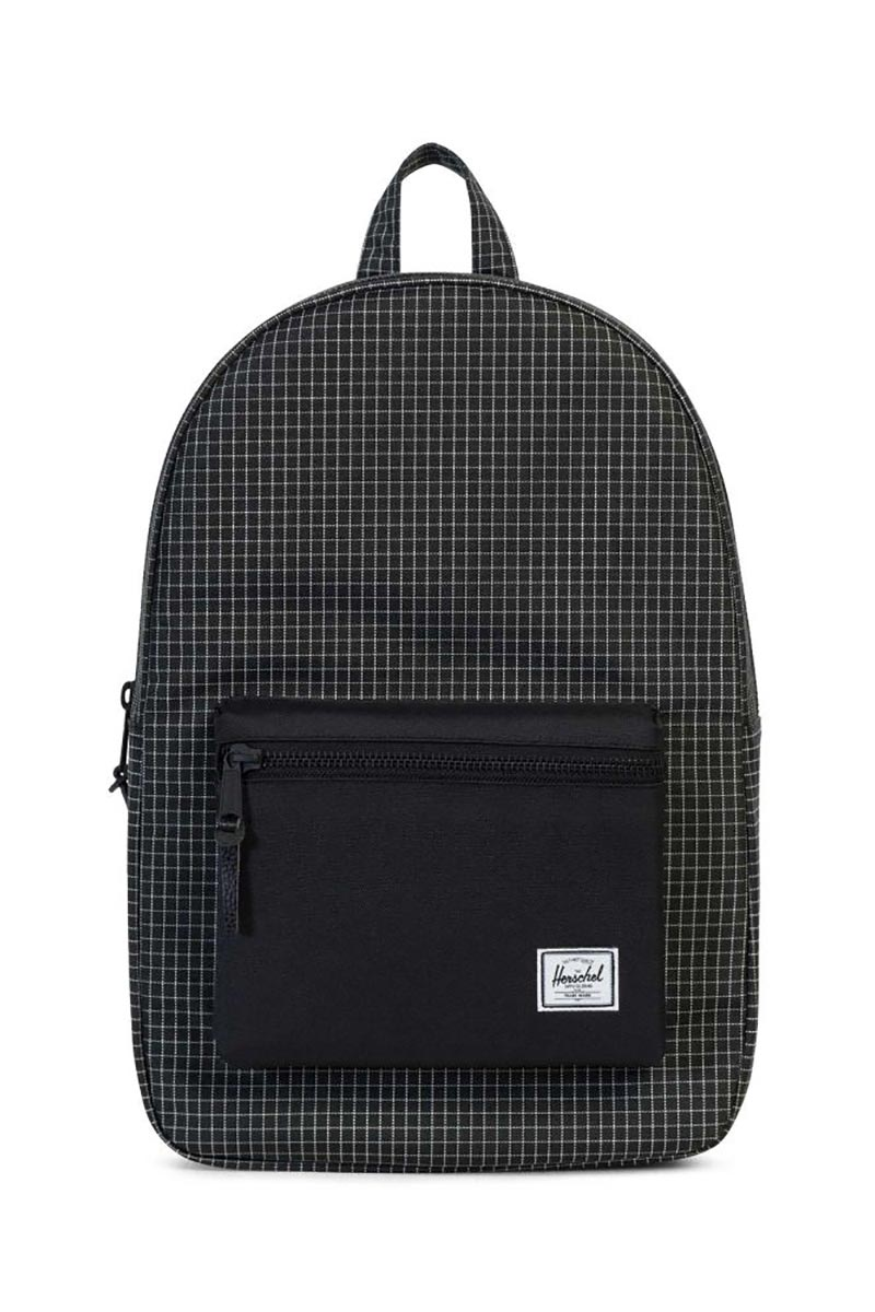 Herschel Supply Co. Settlement backpack black grid - 10005-01579-os