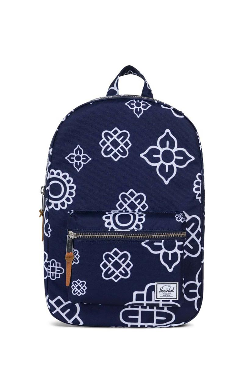Herschel Supply Co. Settlement mid volume backpack peacoat paisley