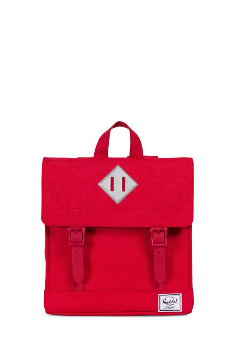 8c757f37d49 Herschel Supply Co. Survey Kids backpack red reflective rubber - 10142 -01669-