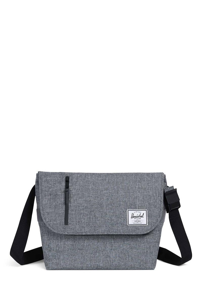 Herschel Supply Co. Odell messenger bag raven crosshatch