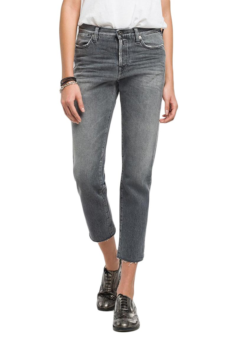 Replay Maddiespa slim-fit jeans grey denim