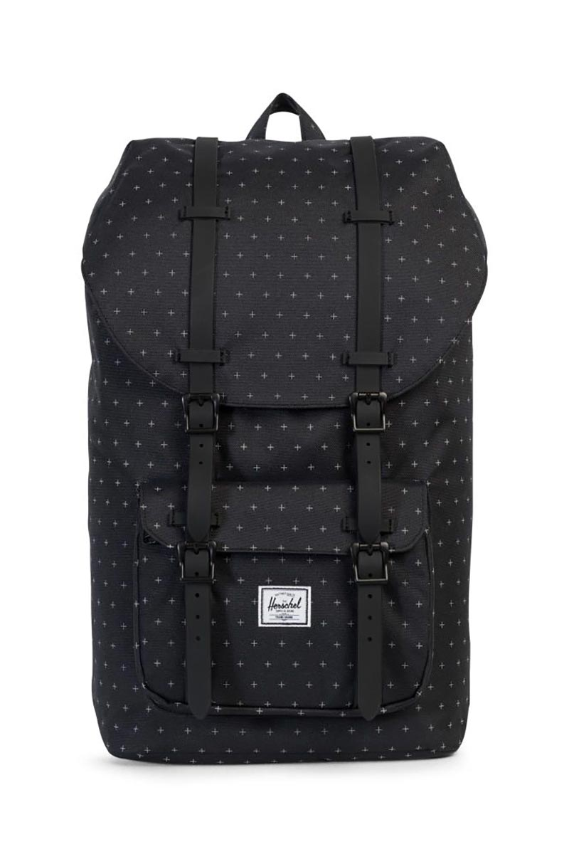 Herschel Supply Co. Little America backpack black gridlock