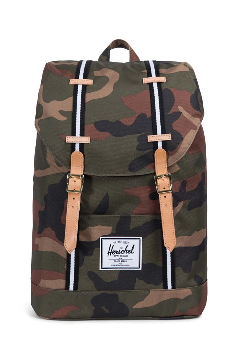 Herschel Supply Co. Retreat Offset backpack camo/black/white