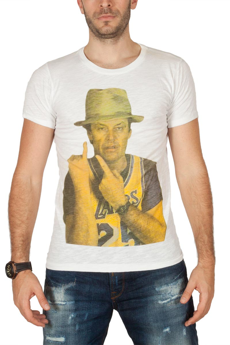 Rude is cool ανδρικό t-shirt basket & movie