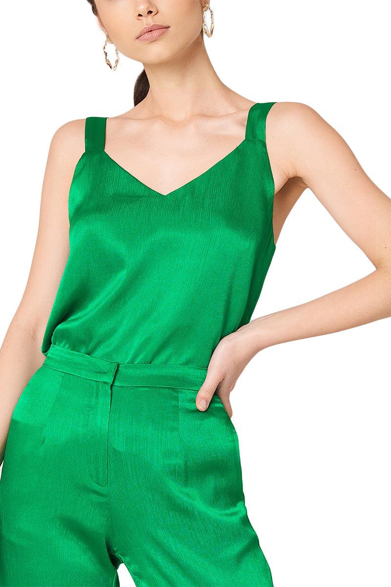 Rut & Circle Ginny τιραντέ τοπ πράσινο