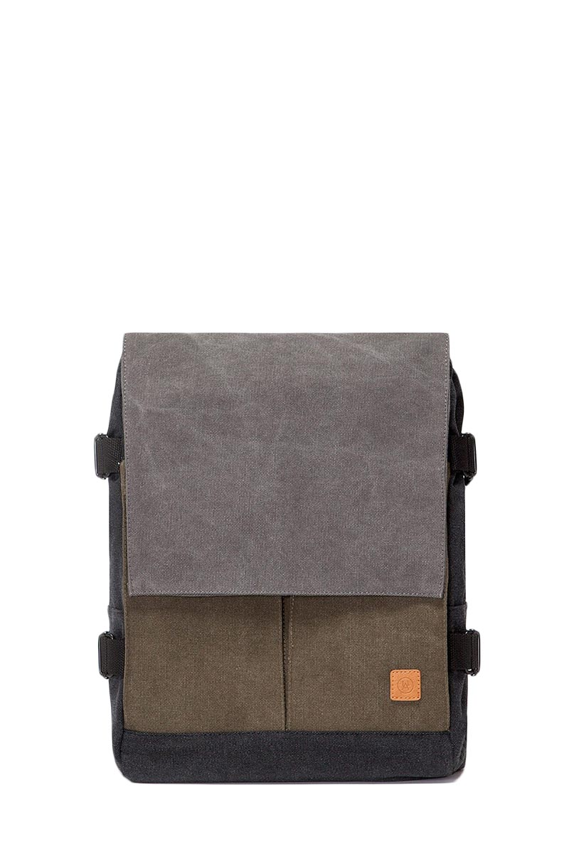 Ucon Acrobatics Eaton canvas backpack black-grey