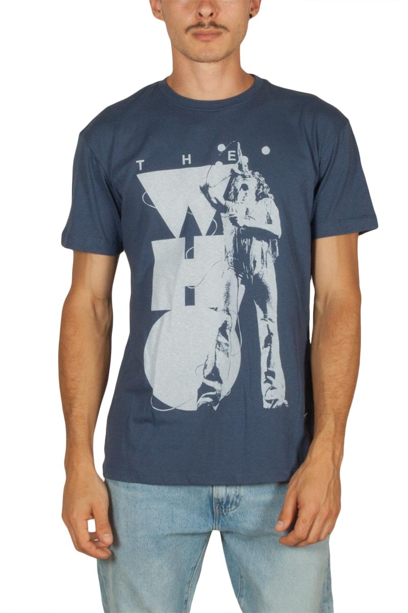 Amplified The Who Daltrey Tassels t-shirt vintage indigo - zav273twr