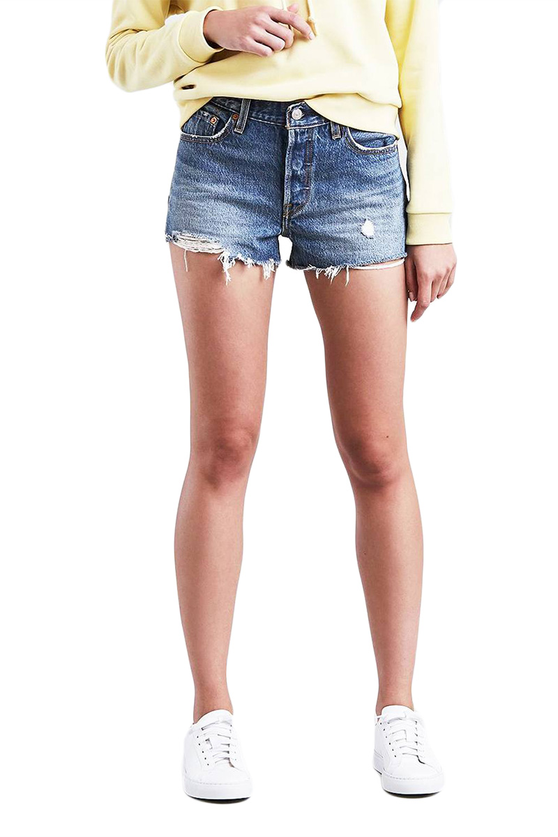 LEVI'S 501® denim shorts back to your heart