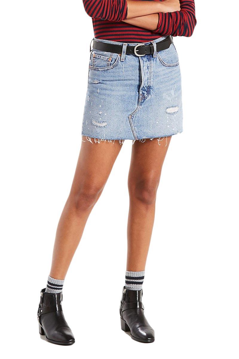 LEVI'S deconstructed skirt american wild - 34963-0001