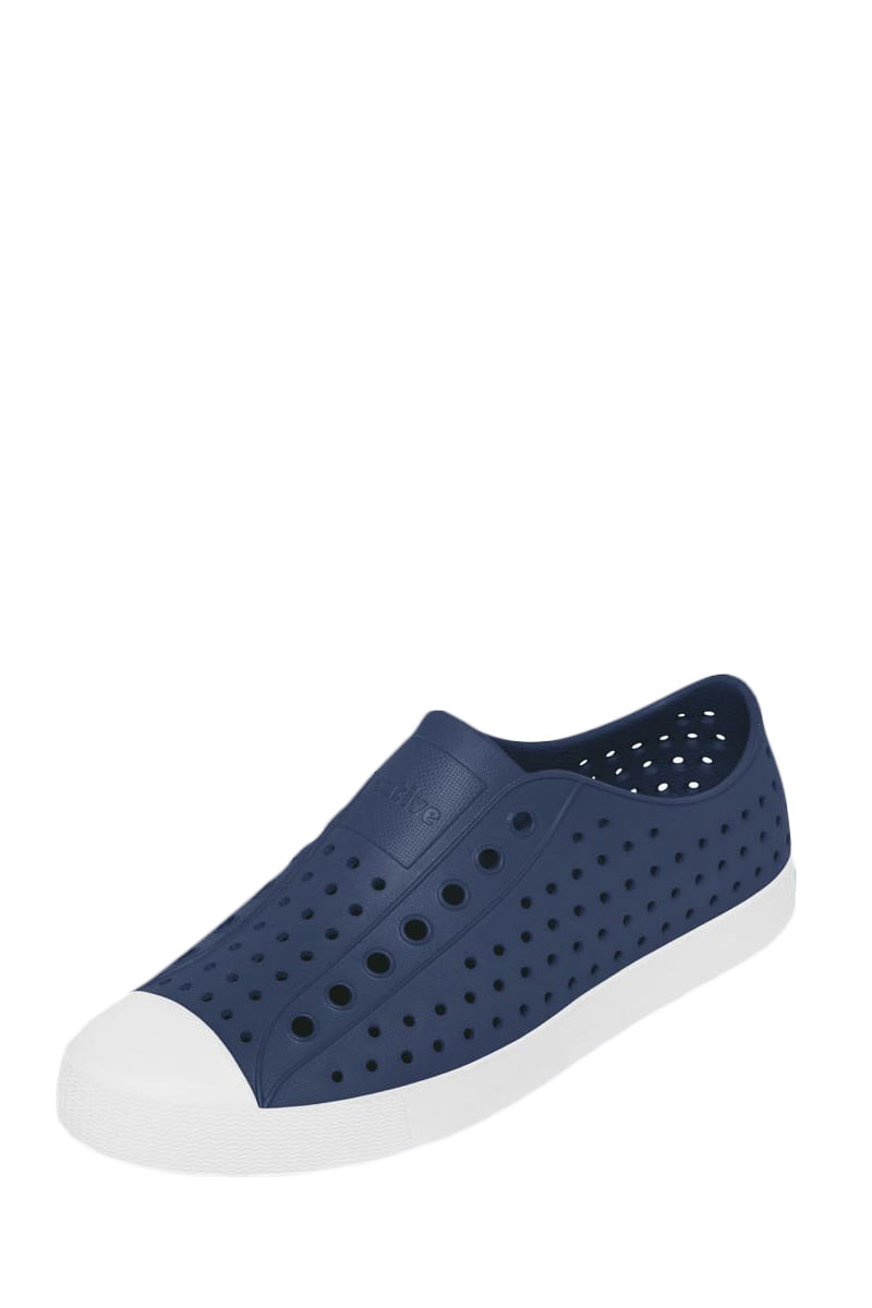 Native ανδρικά παπούτσια Jefferson regatta blue/shell white