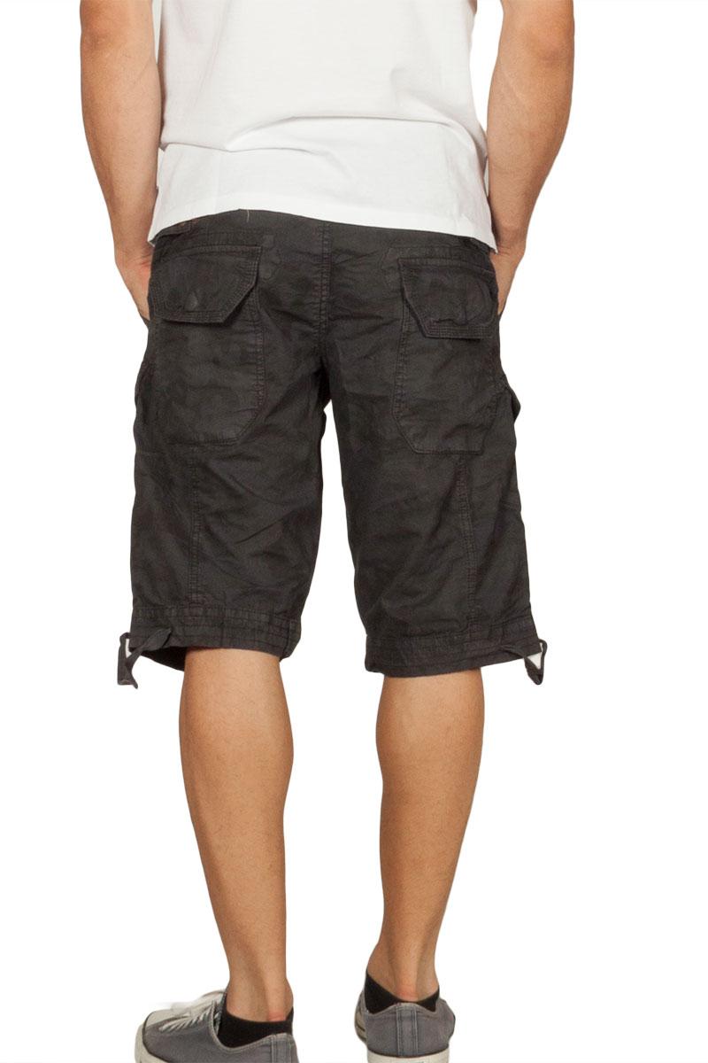 e7b533b0 Splendid men's cargo shorts dark grey camo