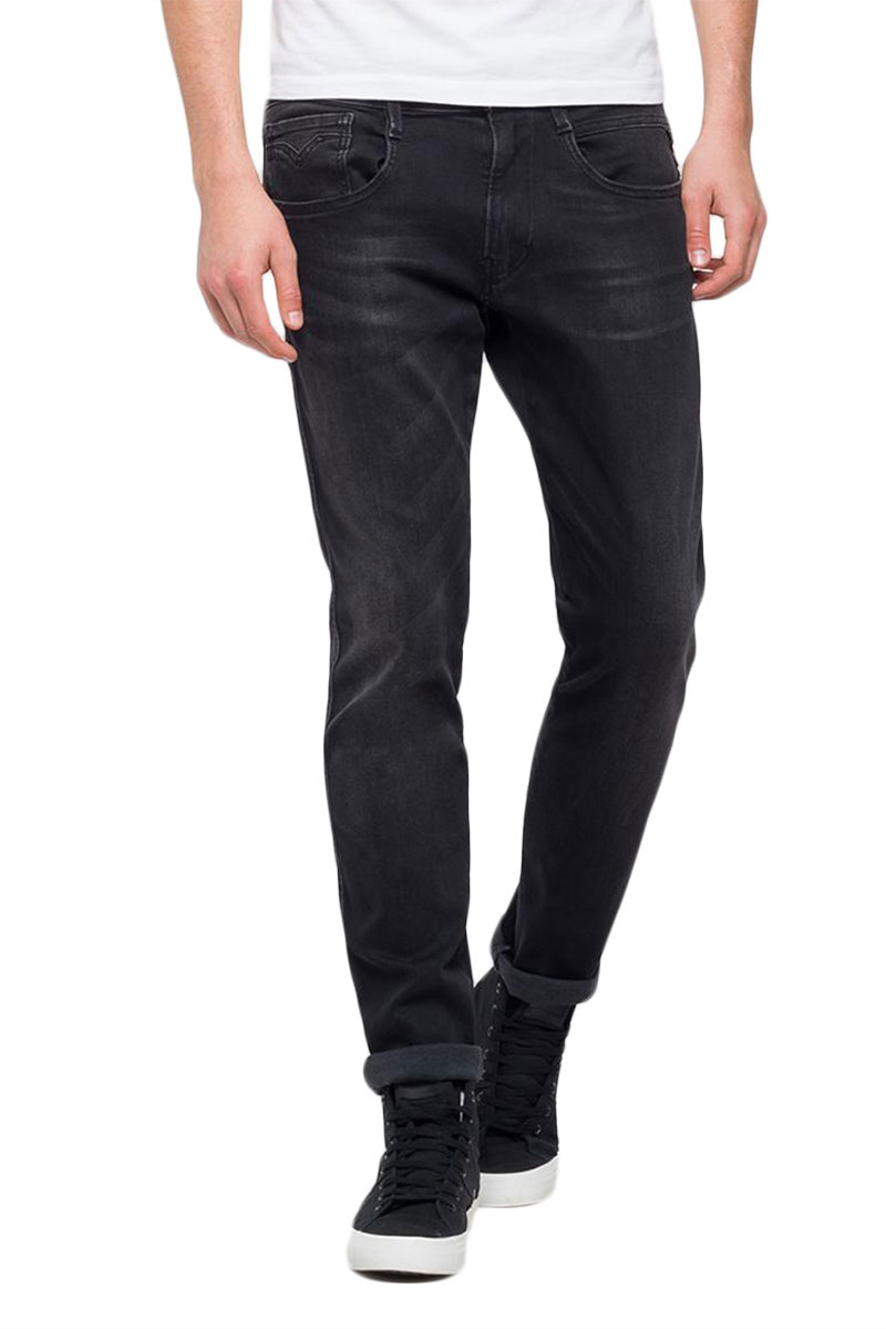 Replay Anbass slim fit jeans black - m914-000-103-280-007